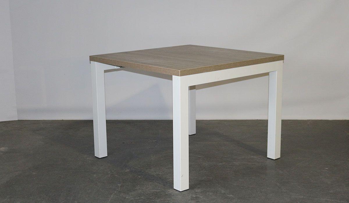 Schaffenburg tafel donker eiken wit opnieuw