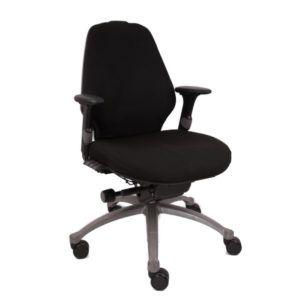 RH Bureaustoel – Tweedehands – Zwart – Logic 300