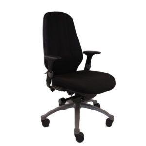 RH Bureaustoel – Tweedehands – Zwart – Logic 400